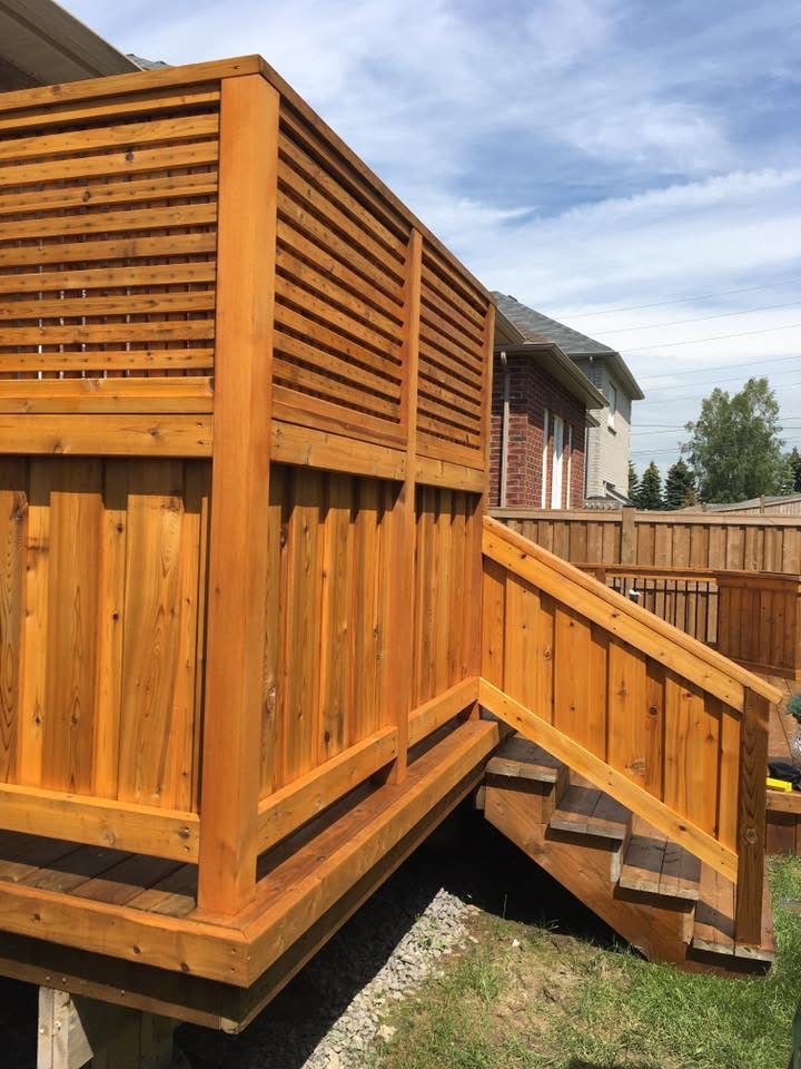 Deck Painting Services